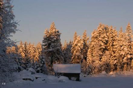 Snörik vinter.
