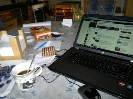 Mitt kaffebord