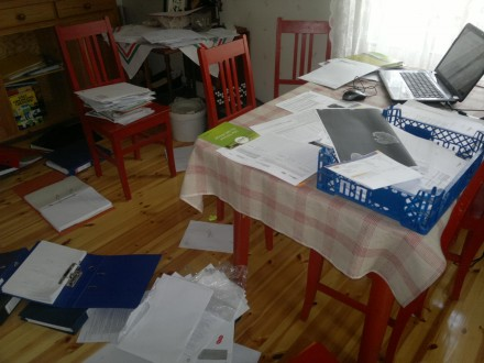 Pappersarbete