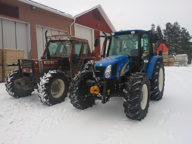 Ny färg i traktorparken