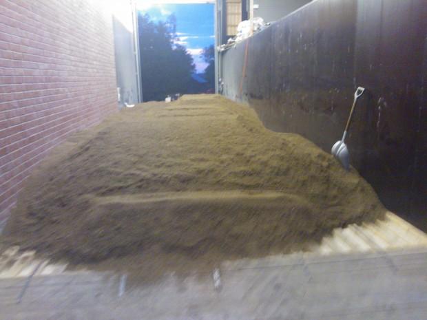 Kumminet kalluftstorkas i golvtorken. Den starka aromen rensade nog tårkanalerna även om jag inte räknar mig höra till den mest gråtmilda typen :)