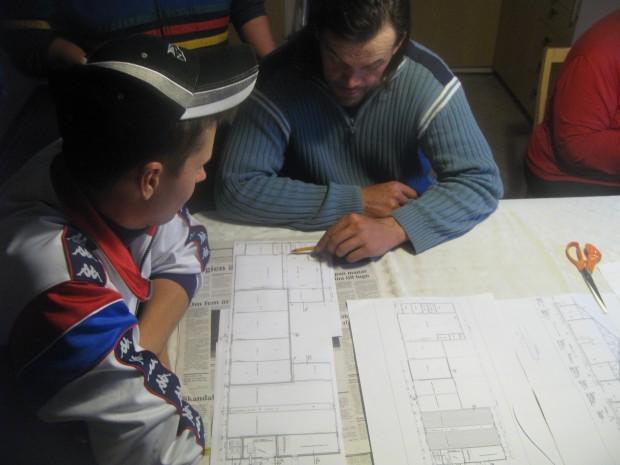 ....samtidigt som byggplaneringen börjar vara klar.......