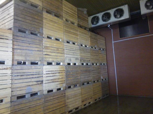 Lite på 14 månader efter branden kan det nya lagret tas i användning.