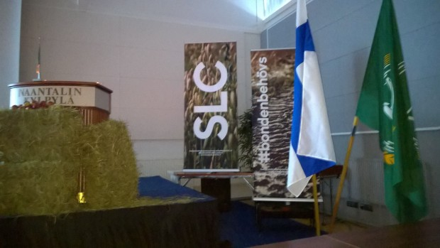 SLC:s kongress i Nådendal.