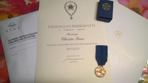 En medalj åt snö-och tjälmätaren.