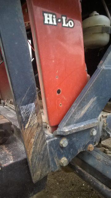 Hålet för nyckeln till förra huvudströmbrytaren får nog tas i bruk igen så fort jag får ny skaffad.