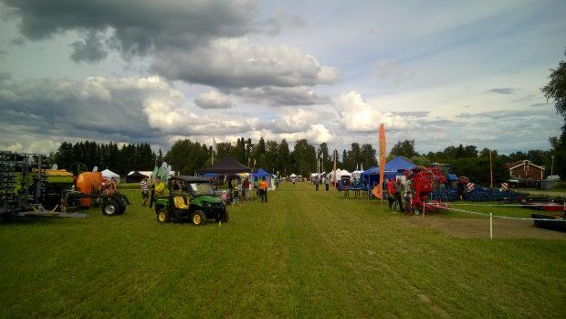 Österbottnisk fältdag i Ylistaro 28.07.2016